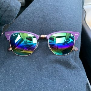 Clubmaster Ray-ban Sunglasses